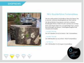 Boulderwelt Regensburg Shopnews Boulderführer Fontainebleau