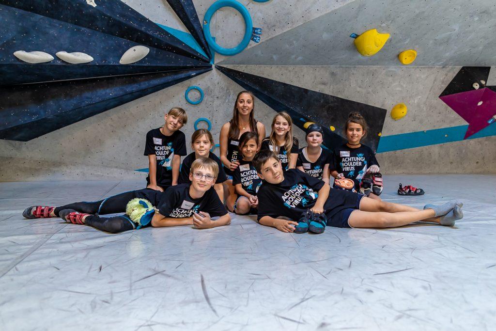 Boulderkids Cup 2018 in der Boulderwelt Regensburg