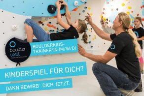 Boulderwelt Regensburg sucht Boulderkidstrainer