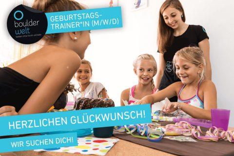 Boulderwelt Regensburg sucht Geburtstagstrainer